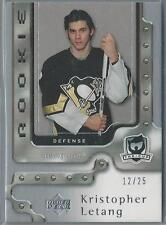 2006-07 UPPER DECK THE CUP KRISTOPHER LETANG RC 12/25!!