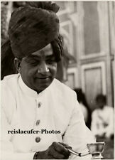 The Maharajah of Jaipur by D. Channer, Orig. Photo 1966