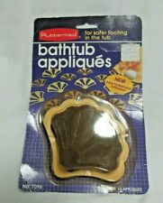 Vintage 1984 NIP Rubbermaid 18 Non-slip Bathtub Appliques Shell