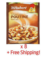 8 Pack of Authentic St-Hubert Poutine Sauce Gravy - From Québec + Free Shipping!