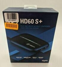 New Elgato HD60 S+ Video Capture Card 1080p60 HDR Capture - 10GAR9901 -J7813