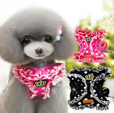 Lovely Cute Small Dog Vest Harness & Leash Lead Set Pet Cat Collar For Chihuahua