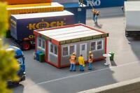 130130 Faller 1:87, Imbiss, 91 Teile, 3 Farben Modelleisenbahn, Gebäude, GMK
