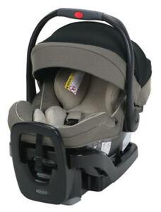 Graco SnugRide SnugLock Extend2Fit 35 Infant Car Seat Safety Surround Haven NEW