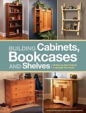 Building Cabinets, Bookcases & Shel