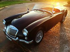 1958 MG MGA Show quality restoration with attention to detail