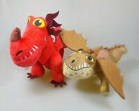 Dragons Drachenzähmen leichtgemacht Hakenzahn & Fleischklops 2 Plüsch Figuren