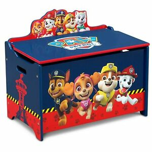 Toy Box Storage Engineered Wood Durable Scratch Resistant Finish Toy Box Storage