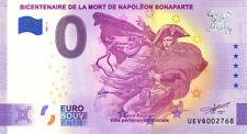 83 SAINT-RAPHAËL Bicentenaire Napoléon, 2021, Anniversaire, Billet Euro Souvenir