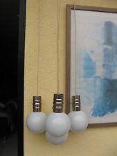 Plafón kaskadenlampe 70er cromo Space Age 60s 70s Kaskade 4 bolas de cristal