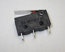 Mikrotaster 250V 5A 3Pin Taster Hebel Microschalter Mikroschalter Hebeltaster 04