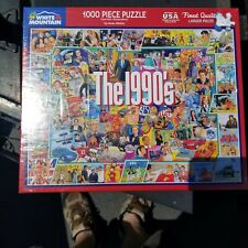 BRAND NEW - WHITE MOUNTAIN PUZZLE - THE 1990'S - NINETIES - 1000 PIECE - SEALED