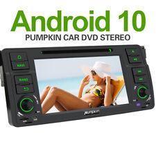 Pumpkin Android 10.0 Autoradio 1 DIN GPS Navi DVD BT DAB+Für BMW 3er E46 318 320
