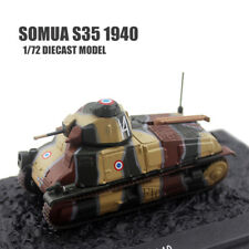 Somua S35 1940 1/72 DIECAST MODEL TANK IXO