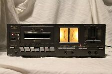 SANYO RD-5500G cassette deck vintage, serviced, VGC tape player recorder