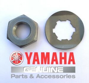 Front Sprocket Holder Lock nut Bolt Washer OEM Yamaha Banshee 350 1987-2006