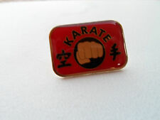 Martial Arts KARATE FIST PUNCH PIN - Combat Tournament NEW/SEALED