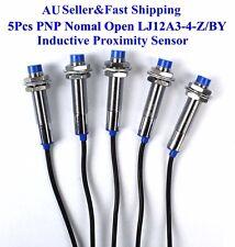 5Pcs NO LJ12A3-4-Z/BY Inductive Proximity Sensor Switch PNP DC6V-36V