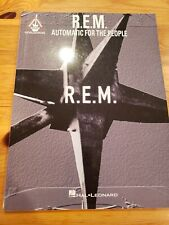 R.E.M. REM Automatic for the People Guitar Recorded Versions Tablature Book