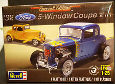 1932 Ford 5-Window Coupe 2´n1, 1:25, Revell 4228