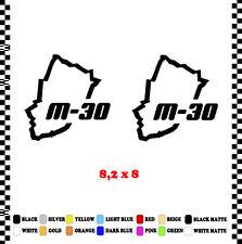 PEGATINA/STICKER/DECAL/AUFKLEBER/VINYL CIRCUITO MADRID M-30