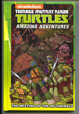 Teenage Mutant Ninja Turtles Amazing Adventures Meeting Mutanimals 1 HC IDW