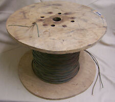 1 Ft of DUAL PAIR 22 AWG Field Phone Wire Strand Copper Conductor Mil Surplus