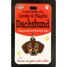 Wags & Whiskers Pet Identity Tag - Dachshund 00204090028