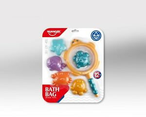 Bath Toy Bathtub Fun Time Toys Games Set Net Floating Best Gift for kids