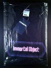 Sword Art Online SAO T-shirt Black XL Size official Cospa Immortal Object New