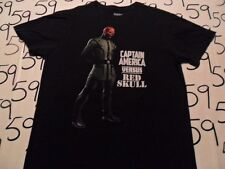 Medium- Captain America Vs Red Skull T- Shirt