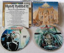 IRON MAIDEN - Powerslave 2CD LIMITED EDITION 1995 CASTLE 106-2