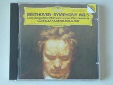 Beethoven Symphony No 5 LAPO Carlo Maria Giulini DG West Germany CD 1982