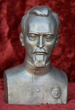 USSR Russian Soviet communist DZERZHINSKY bust statue Lenin sc. Teplov H=24 cm.