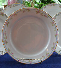 CH FIELD HAVILAND-GDA-LIMOGES-LONDON CROCKERY-c.1900-DINNER PLATE(s)-MINT!GILT!