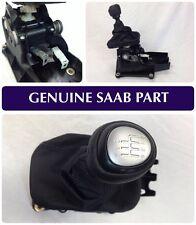 GENUINE SAAB 9-3 COMPLETE 6 SPEED GEAR SELECTOR, GEAR KNOB EMBLEM INC -55567139