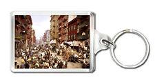 MULBERRY STREET NEW YORK 1900 - KEYRING LLAVERO