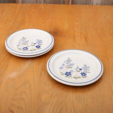 3 Mikasa Salad Plates Flowers of Spring Flower Garden KM501