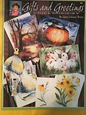 SCHEEWE GIFTS & GREETINGS, BOOK, FULL OF BEAUTIFUL WATERCOLOR & Acrylic PAINTING