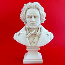 SCULTURA busto marmo Beethoven-Made in England