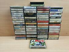 Huge Bundle Of x79 Music Cassette Tapes Various Artists and Genres Job Lot
