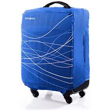 Samsonite Foldable Luggage Cover, Medium - Blue