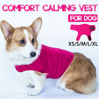 Pet Puppy Dog Comfort Calming Vest Thunder Anxiety Calm Jacket Clothes Harnesses