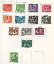 Sweden stamps 1924 Collection of 13 stamps  CAT VALUE $500