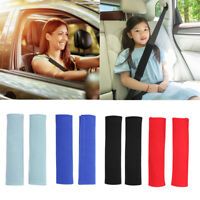 2pcs Universal Car Seat Belt Pads Harness Safety Shoulder Strap Cushion Cover