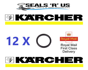 12 x  KARCHER HD HDS HOSE NOZZLE JET LANCE SPARE O-RING SEALS EPDM O RINGS