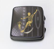 TUPPERWARE A126 Fußball Kicker Sandwichbox Brotdose Lunchbox SCHWARZ