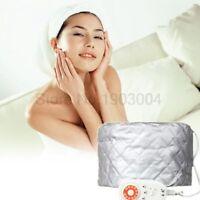 Hair Cap Salon Heat Dryer Bonnet Portable Soft Hat Hood Speed Adjustable Heating