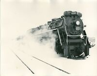 1962 Canadian National Locomotive Photo 6167 4-8-4 Barrie Ontario Railroad Steam