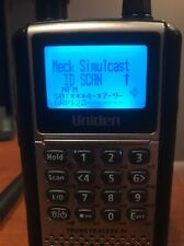 UNIDEN BCD396XT DIGITAL APCO P25 RADIO SCANNER W/ Cords